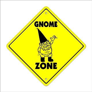Cortan360 Gnome Crossing Sign Zone Xing 20