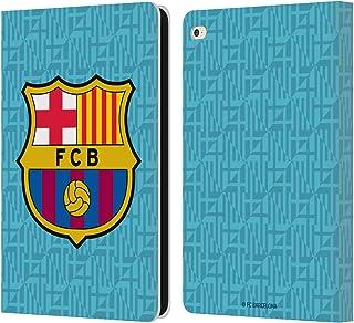 Head Case Designs Oficial FC Barcelona Tercera equipación 2019/20 Crest Kit Carcasa de Cuero Tipo Libro Compatible con iPad Air 2 (2014)