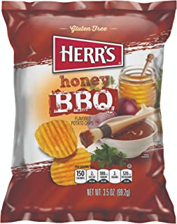 Herrs Honey Barbecue Potato Chips, 99 gm