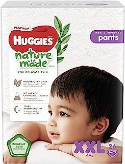 HUGGIES Platinum Naturemade Pants XXL, 26 Pieces