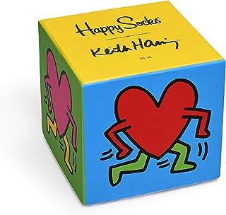 Happy Socks, Colorful Premium Cotton Gift Box 3 Pack Socks for Men and Women