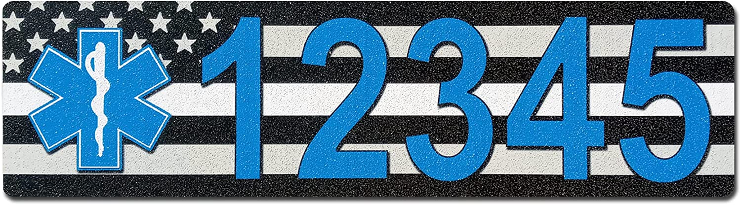 Curb-N-Sign Many popular brands Curb Wrap Peel and personalize 2021 model address decal stick