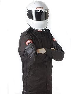 RaceQuip 111005 111 Series Large Black SFI 3.2A/1 Single Layer Driving Jacket