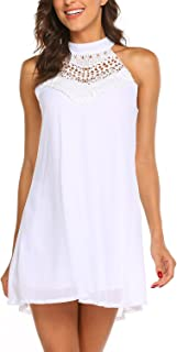 Best white halter neck mini dress Reviews