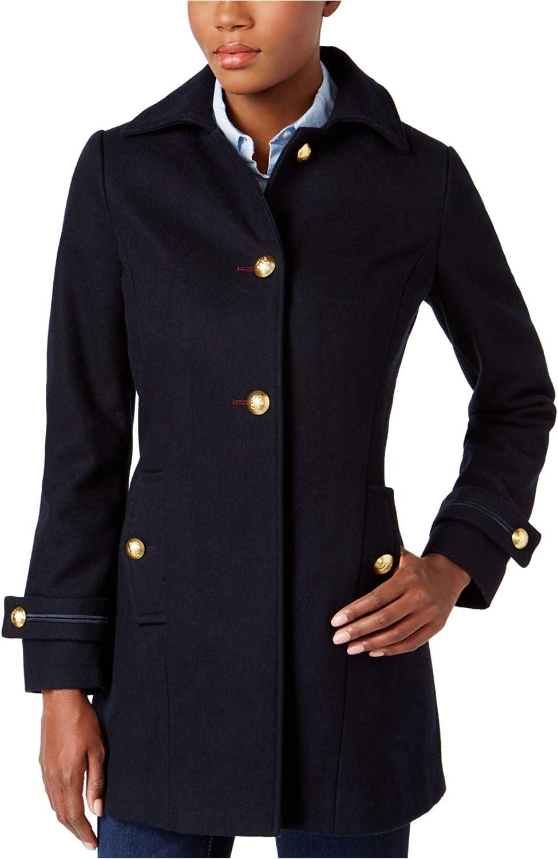 Nautica Womens Military Pea Coat