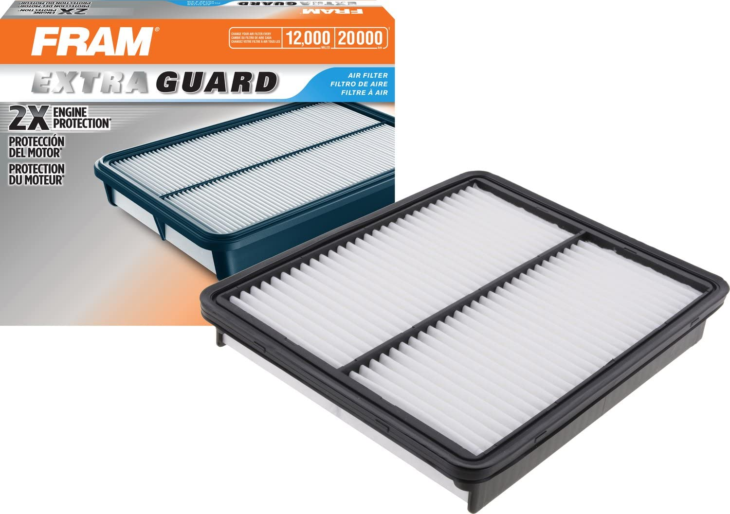 FRAM Extra Max 80% OFF Guard Air Filter Raleigh Mall CA10881 and for Hyundai Select Kia