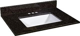 Best black pearl granite vanity top Reviews