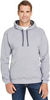 Fruit of the Loom - Sofspun Microstripe Hooded Pullover Sweatshirt - SF77R