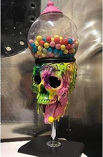 FENGHE Distributeur de Bonbons Bubble Gum Skull Machine, Distributeur Automatique de Chewing-Gum, Mini Distributeur de Bon...