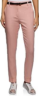 oodji Ultra Women's Pleated Linen Trousers