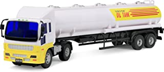 Click N Play Friction Powered Jumbo Oil Tanker Truck Toy Vehicle for Kids