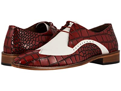 Stacy Adams Trazino (Red/White) Men