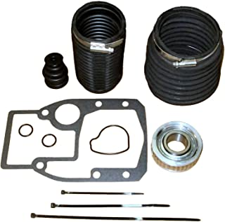 Tungsten Marine Transom Bellows Kit for OMC Cobra Replaces 3854127, 914036, 911826 and More