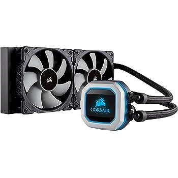 Corsair H100i Pro RGB 水冷一体型CPUクーラー [Intel/AMD両対応] Corsair LINK対応 FN1195 CW-9060033-WW