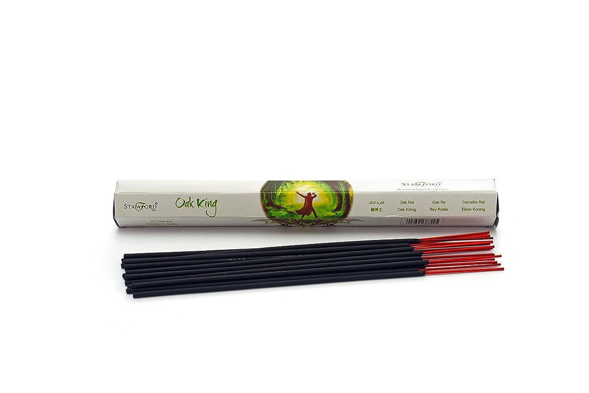 ニックネームトンゆるいPack Of 6 Oak King Incense Sticks By Anne Stokes