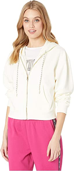 Luxe Juicy French Terry Hooded Jacket