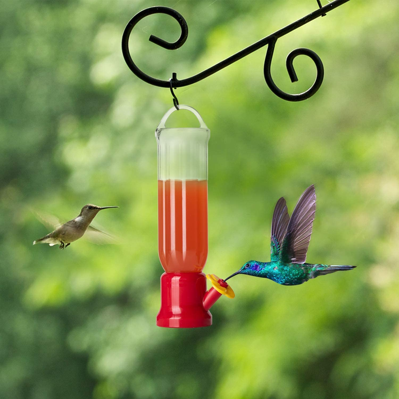 single hole hummingbird feeder)