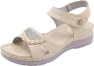 Slingback Damessandalen, sleehak, peep teen, zomer, outdoor sandalen.