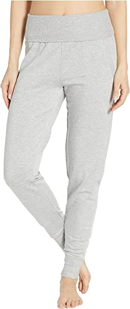 Fleece Fold-Over Sweatpants