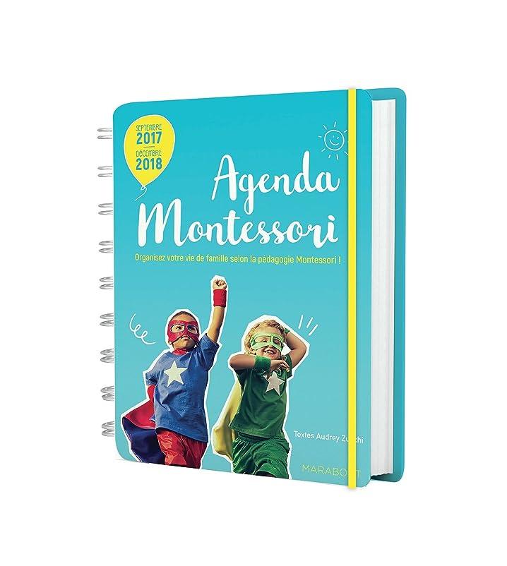 スポーツマン失礼気怠いAgenda familial Montessori 2017-2018