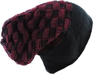 SILVERFEVER Silver Fever Women Knitted Winter Hat Cup Ski Outdoor Sport Fashion Binnie Skullies