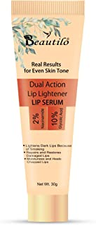 Dual Action Lip Lightener Lip Serum/Balm/Lightener/Moisturizer For Lip Lightening/Brightening/Toning/Moisturizing,30g