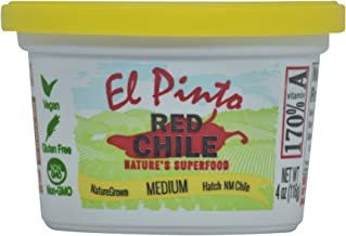 El Pinto Medium Hatch Red Chile Sauce (4 Ounces, 12 Pack)