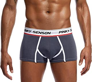 Mens Bulge Enhancing Silky Touch Underpants Low Rise Breathable