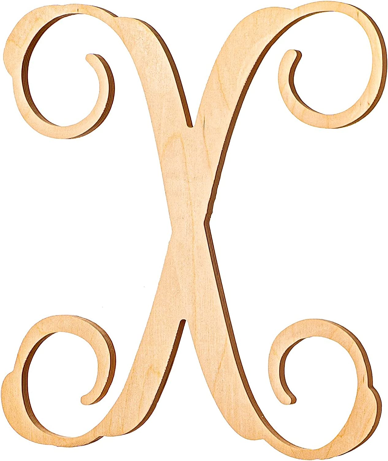 UNFINISHEDWOODCO Wooden Letter Monogram Room 13 Outstanding Fixed price for sale Inche - Décor