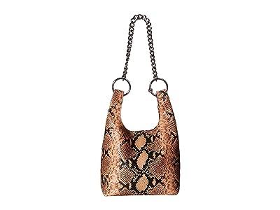 Rebecca Minkoff Karlie Chain Shopper (Rosewood) Tote Handbags