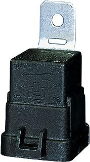 HELLA 007794301 Weatherproof 20/40 Amp SPDT Mini Relay with Bracket, Black