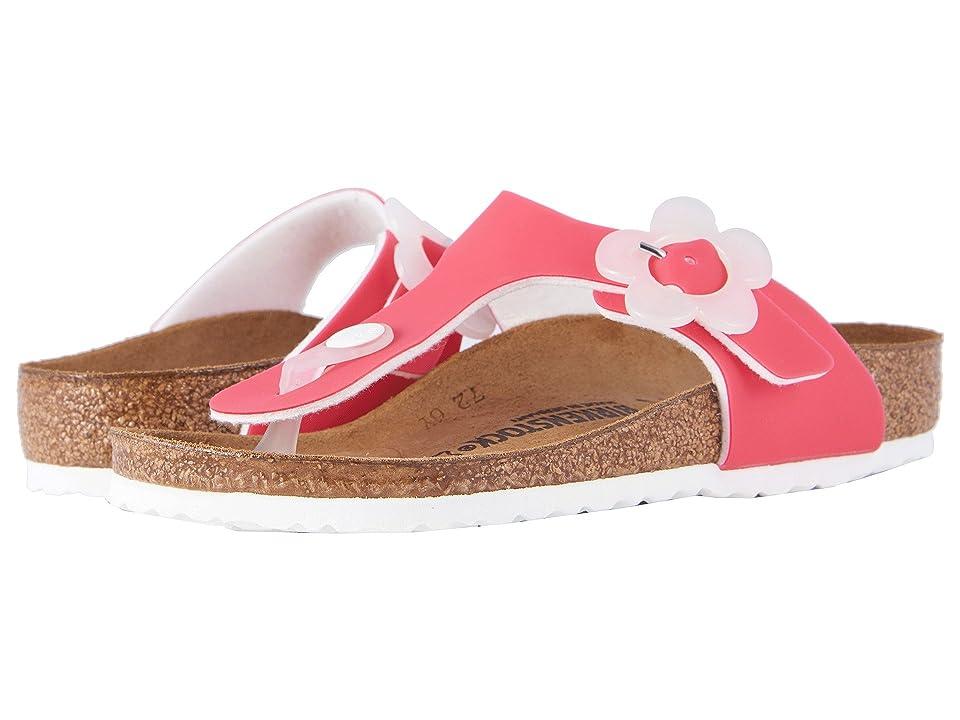 Birkenstock Kids Gizeh (Little Kid/Big Kid) (Candy Pink Birko-Flor) Girls Shoes