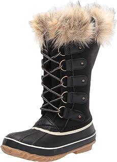 JBU by Jambu Women's Ella Waterproof Winter Boot, Black, 6