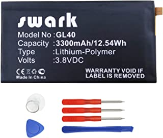 Swark Replacement GL40 Battery Compatible with Motorola Moto Z Play Droid XT1635 SNN5974A (GL40-02)
