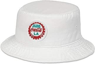 American Needle Coca Cola LA Forrester White Bucket Hat