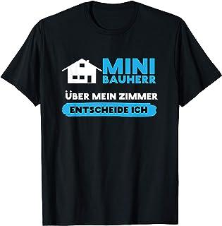 Bedrucktes lustiges Fun-Shirt zum Eigenheim Geschenke-Idee für Bauherr und Bauherrin 2021 I T-Shirt