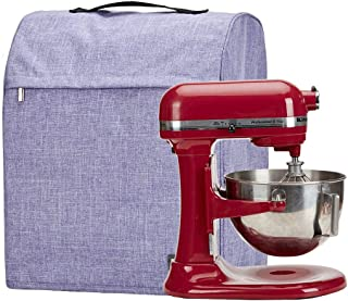 HOMEST Stand Mixer Dust Cover with Pockets Compatible with KitchenAid Tilt Head 4.5-5 Quart, Purple (Patent Pending)