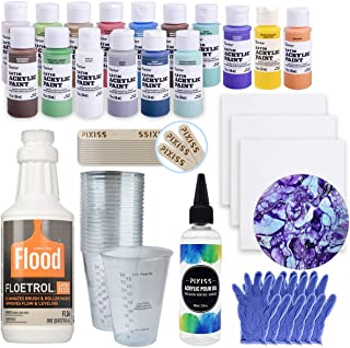 Best acrylic paint pouring supplies Reviews