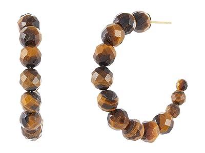 Chan Luu Labradorite Hoop Earrings
