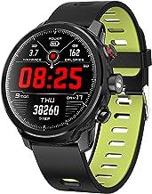 Reloj Inteligente Frecuencia Cardiaca para Hombre Mujer Impermeable Reloj Inteligente Monitores de Actividad Fitness Tracker con Monitor de Sueño Pulsómetros Podómetro Compatible con iOS Android