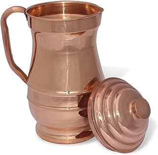 ayurveda copper water pitcher