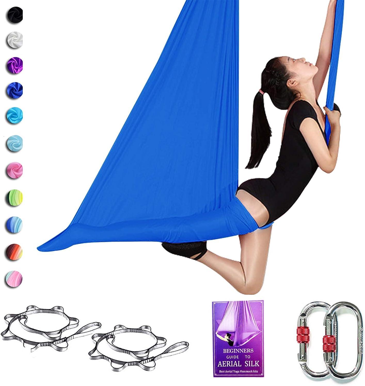 SAIVEN Aerial Silks-Aerial Yoga 卓越 Hammock S Swing Deluxe with 引出物