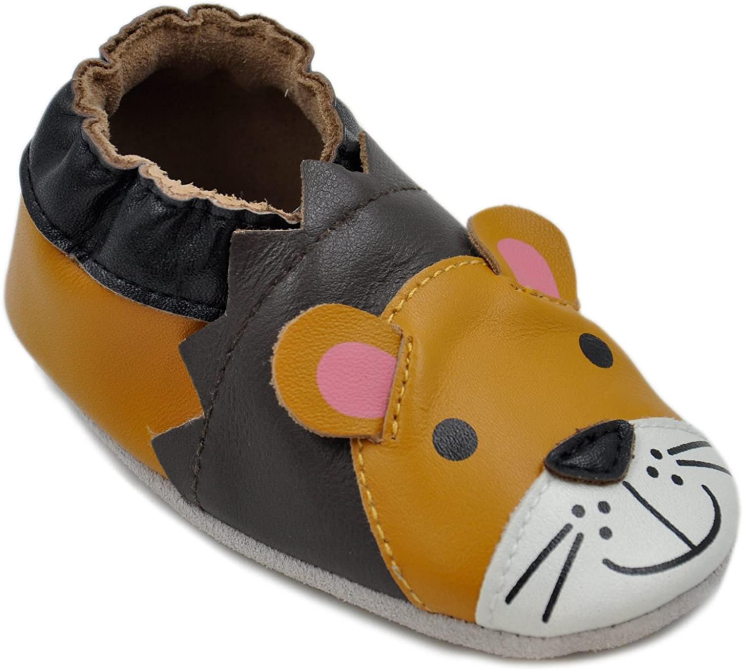 Momo Baby Boys Soft Sole Leather Toddler First It is very popular Walker 2021 new Shoes Crib