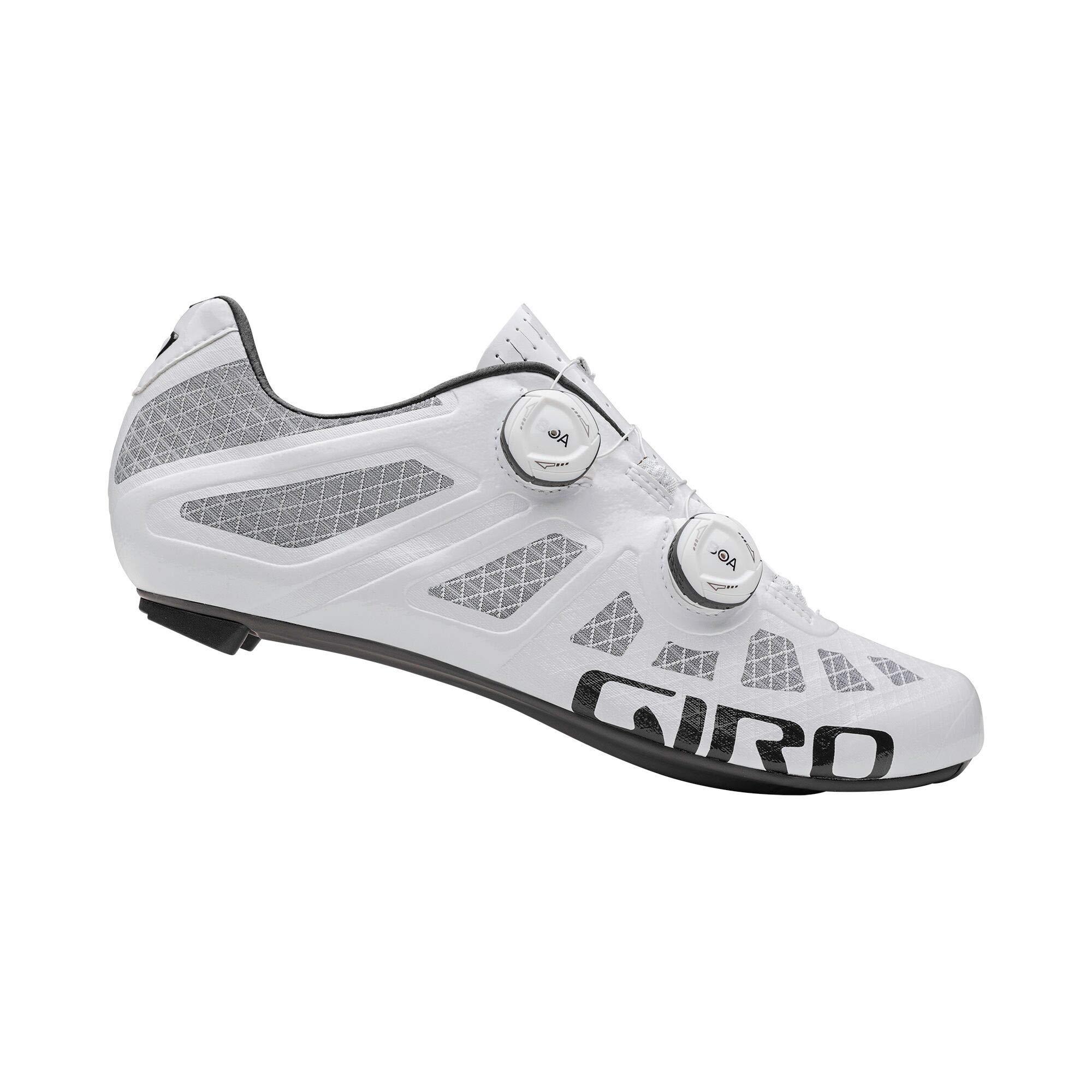 Giro Imperial Zapatillas de triatlón para Bicicleta de Carreras, Hombre, Blanco, 44.5: Amazon.es: Deportes y aire libre
