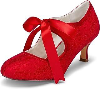 JIA JIA Wedding 14031 Chaussures de Mariée Mariage Escarpins pour Femme
