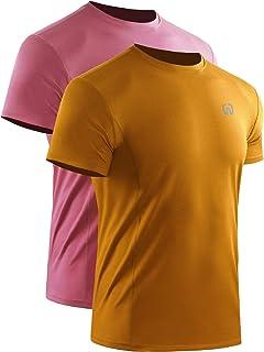 Neleus Men's Mesh Dry Fit Lightweight Athletic Shirts