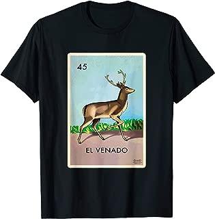 El Venado T-Shirt Loteria The Deer