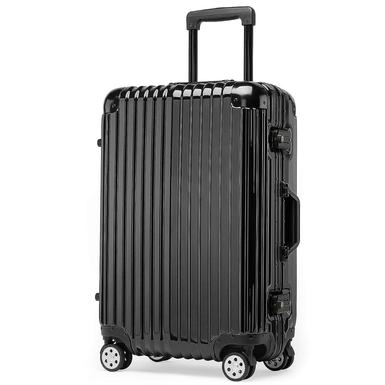 私達隣人乳クロース(Kroeus)スーツケース キャリーケース 耐衝撃 仕切り板 クロスベルト付き メッシュポケット 海外旅行 出張 360度静音キャスター 保護用ガード TSAロック 大容量