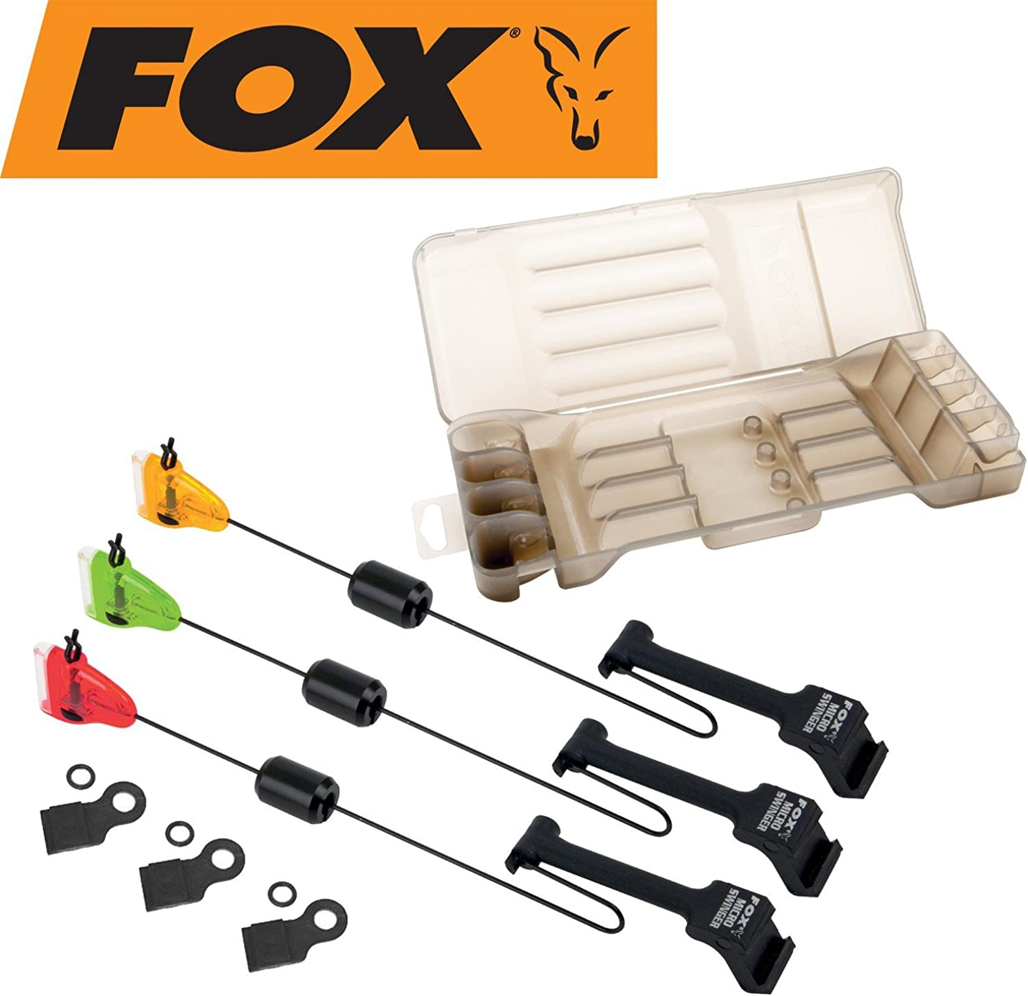 FoxMicro Swinger 3-Rod Set (R,O,G)