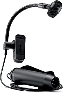 Shure PGA98H-XLR Cardioid Condenser Gooseneck Instrument Microphone with 15' XLR-XLR Cable